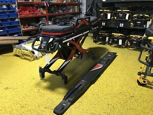 Loaded Ferno Inx Inline Track Power Cot Ambulance Stretcher Electric Stryker