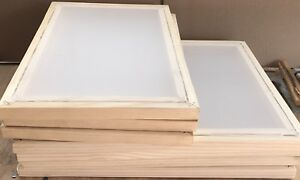 3 Pcs Of Silk Screen Printing Frames 20 x16 inside 18 x14 180 Mesh