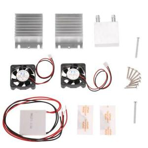 Tec1 12706 Heatsink Thermoelectric Cooler Cooling Peltier Module Diy Kit S7j0