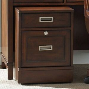 Beaumont Lane 2 Drawer Mobile File In Walnut
