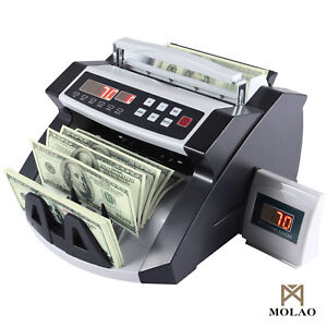 Bn Money Bill Cash Counter Currency Counting Machine Bank Uvmg Counterfeit New