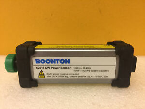 Boonton 52012 10 Mhz To 12 4 Ghz 50 To 20 Dbm Cw Power Sensor Tested
