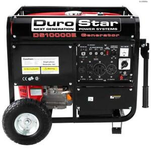 Duromax 10000w Portable Gas Electric Start Generator Standby Camping