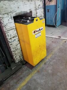 24 Volt Forklift Battery Deka 12 Cells With Cable For Charger And Charger