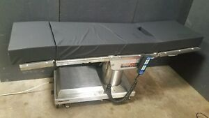 Skytron Elite 6500 Surgical Table W Controller New Pads Medical Or Arm Boards
