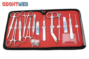 3 Sets 24 Us Military Field Style Medic Instrument Kit medical Surgical Nurse