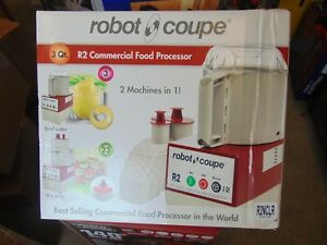 Robot Coupe 1 Hp 3 Qt Combination Continuous Feed Food Processor Model R2nclr