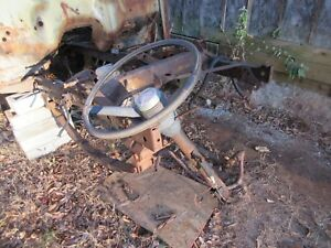 Jeepster Commando Complete Steering Column With Steering Wheel Local Pickup