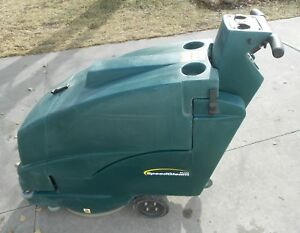 Nobles Speed Gleam Plus Battery Operated Walk Behind Floor Buffer Burnisher