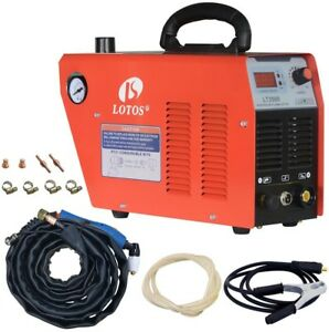Lotos Welding Machine Inverter Plasma Cutter 35 Amp 110v 120v Standard Wall Plug