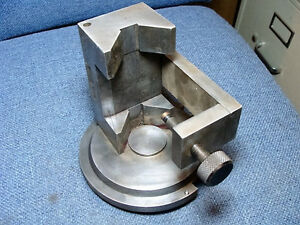 Custom Rod Holding Fixture For Sunnen Tobin arp Model Pm Boring Machine