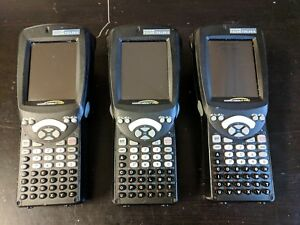 Lot Of 3x Psion Teklogix 7527c g2 Workabout Pro Scanner