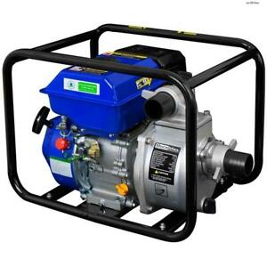 Duromax 4 Portable 9 Hp Gas Power Water Trash Pump Npt Threaded Xp904wpduromax