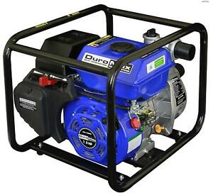 Duromax 2 Portable 7 Hp Gas Power Water Trash Pump Npt Threaded Xp652wpduroma