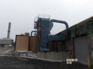 Trigen Dust Collector 40 000 Cfm