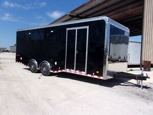Haulmark 24 Loaded Up Race Trailer Extra Ht With Sub Woofer 6000 Lb Axles Texas