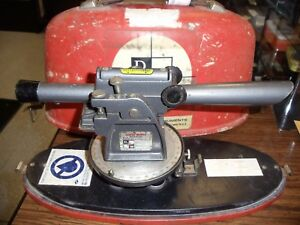 Vintage David White Surveyor Scope With Level And Tripod