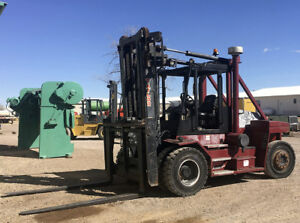 Taylor Forklift 30 000 Lbs Year 2009