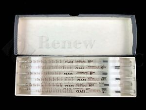 12 New Fisherbrand Class 2 10ml In 1 100 Tissupet Short Serological Glass Pipets