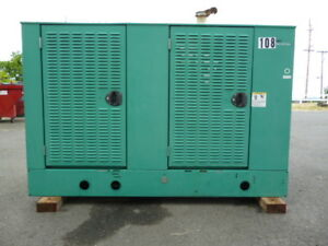 Onan Cummins 47kw Standby Lp Generator Ford V 6 120 240v Single Phase Unit 108