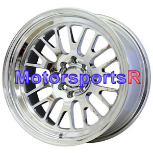 Xxr 531 16x8 0 Platinum Rims Wheels Deep Lip Stance 4x100 90 91 05 Mazda Miata