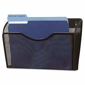 Rolodex Single Pocket Wire Mesh Wall File File mesh Wall bk pack Of5