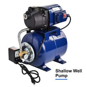 1200w 1000gph Garden Water Pump Shallow Well Pressurized Home Irrigation New