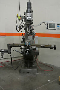 Bridgeport Ez Trak Cnc Mill