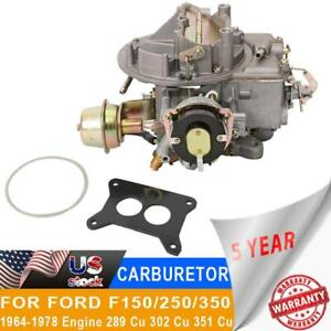 2100 A800 Carburetor Carb Conversion Fit Ford Mustang 289 302 351 Jeep 360 2bbl
