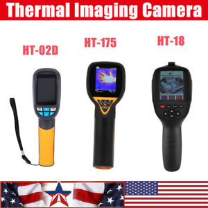 Ht 18 175 02d Handheld Digital Ir Infrared Thermal Imager Camera Thermometer