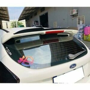 H648 Add On St Rear Trunk Spoiler Unpainted For 11 18 Ford Focus Mk3 Hatchback