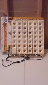 Miller Little Giant 6300 Automatic Egg Turner For Chicken Quail Pheasant 120 V