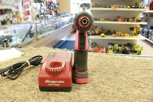 Snap on Cts761ao 14 4v 1 4 Hex Microlithium Cordless Screwdriver W battery