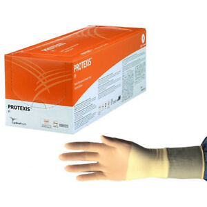 Protexis Polyisoprene Surgical Glove Powder free Size 7 5 50 box