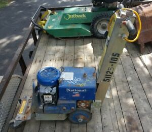 National 6280 Commander Walk Behind Floor Tile Scraper Stripper