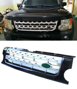 For Land Rover Lr3 Discovery 05 2009 Front Bumper Grill Grille Cover Trims
