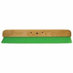 36 Green Nylex Soft Broom W out Handle Finish Memory Wood Nynex Concrete Leader