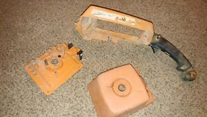 Stihl Ts760 Cutoff Saw Rear Handle Carb Plate And Air Cleaner Housing 075 076