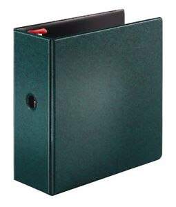 Cardinal Prestige Locking Slant d Ring Binder 5 inch Evergreen 18064v3