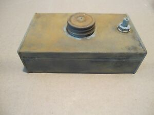 Vintage Briggs Stratton Gas Tank Stationary Engine Hit Miss Kick Start Wm Wmb Wm