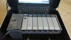 Slc 500 Plc With Rslogix 500 Complete Learner Trainer System