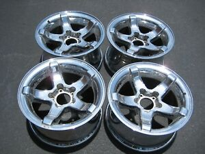 1999 2000 2001 Ford F 150 Lightning Oem 18 Inch Chrome Wheels Rims Set Of 4
