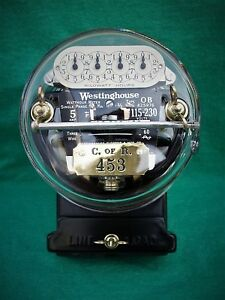 Westinghouse Ob Meter Pristine Condition 5 Amp 115 230 Volts
