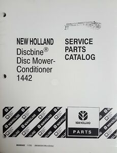 New Service Parts Catalog For New Holland Discbine Disc Mower conditioner 1442