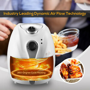 Bn 2 7l 1300w Electric No Oil Air Fryer Timer Temperature Control Kitchen