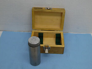 Magnetic Cylindrical Square Cylinder Machinist 5x2 With Switch Nice With Box