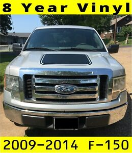 Ford F150 Hood Decal F 150 2009 2010 2011 2012 2013 2014 Premium Vinyl Blackout