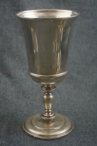 Tiffany Co Sterling Silver 925 Chalice Large Goblet 8