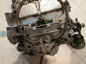 Used 1980 4 Barrell Sbc V8 Chevrolet Quadrajet Carburetor Original True 31k Unit