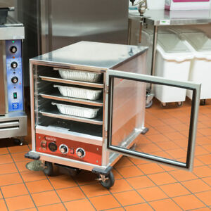 Avantco Half Size Non insulated Heated Holding Proofing Cabinet With Clear Door